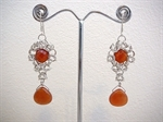 Picture of Carnelian and 925 Silver Components
