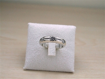 Picture of Art Clay Silver & Cubic Zirconia Ring.