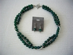 Picture of Green Onyx and 925 Silver Components