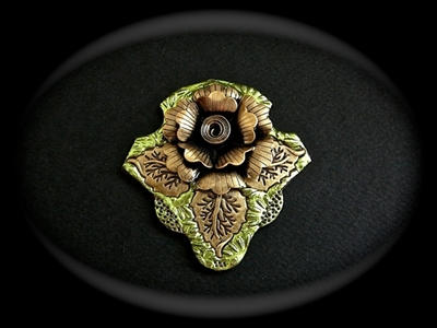Picture of Polymer clay and metal components.