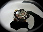Picture of Swarovski brass ring.