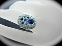 Picture of Ring / Crystal Clay & Swarovski Chatons