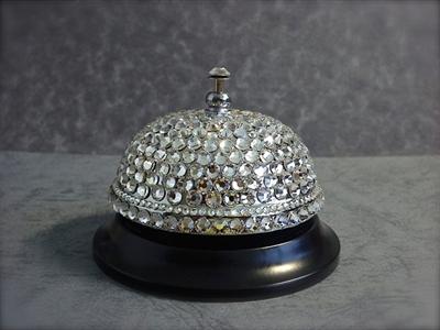 Picture of Decorative bell & Swarovski