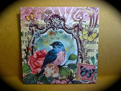Picture of Wall decor - Decoupage